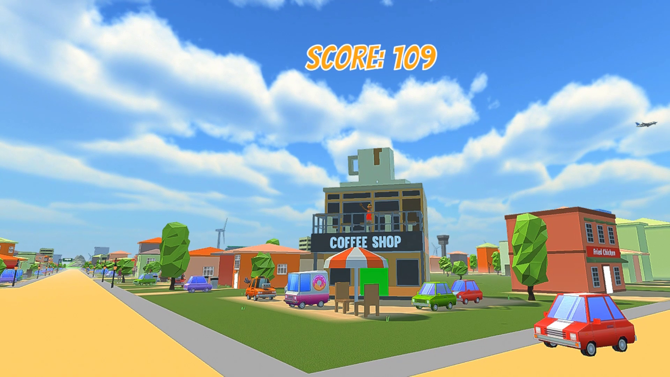 VR Paper Star Video Game Screenshot